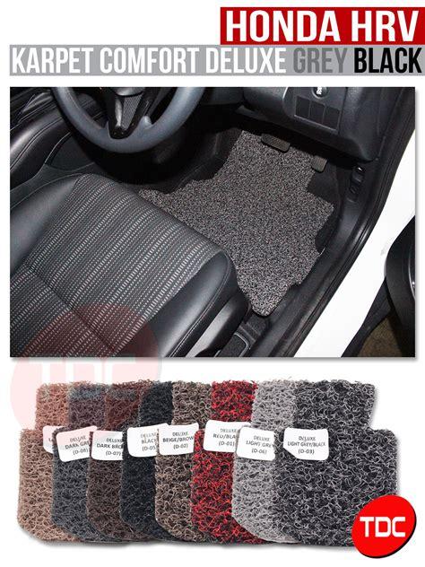 jual hrv comfort karpet mobil delux custom fitt variasi