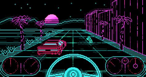 80s color themes mirror80 retronator motorway pixel dailies theme by ricardo