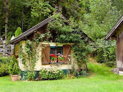 free photo garden shed witch s house free image on