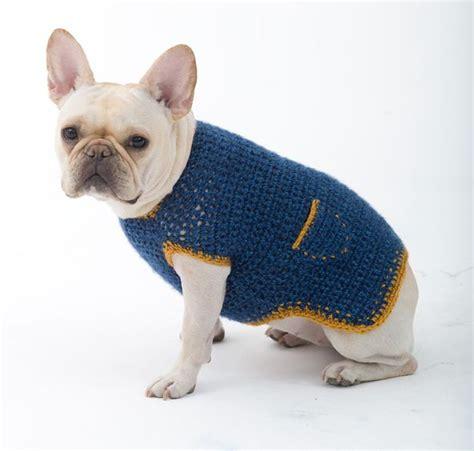 pattern for dog sweaters free crochet dog sweaters for free pet crochet pinterest
