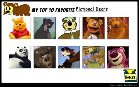 7 Of My Favorite Fictional Characters by In The Big Blue House Favourites By Dotlover1000 On