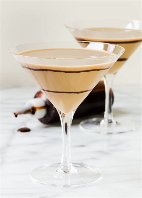 martini two chocolate martinis for two