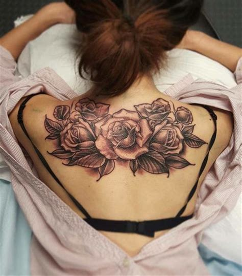 rose tattoos back of neck best 25 artists ideas on ink