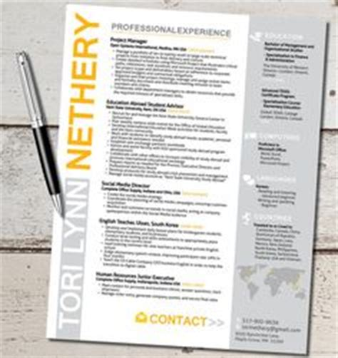 Best Creative Resume Sles Marketing Resume On Resume Template Free Resume Templates And Resume