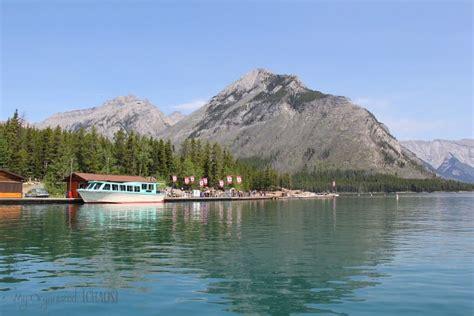 lake minnewanka boat cruise family travel canadian rocky mountains