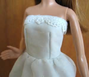 Janel was here free pattern for barbie strapless dress
