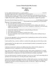 best photos of procedure consent form template
