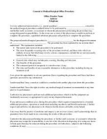 Best photos of procedure consent form template medical procedure