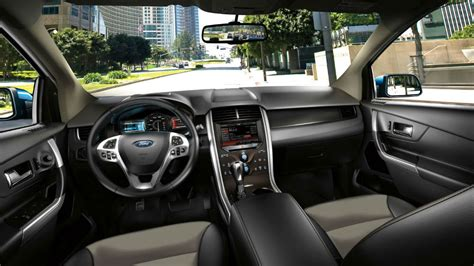 2014 Ford Edge Interior Pictures by 2014 Ford Edge Sel Tuxedo Black
