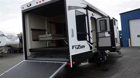 2014 Keystone RV FUZION 301 TOY HAULER at HolmanRV.com   YouTube