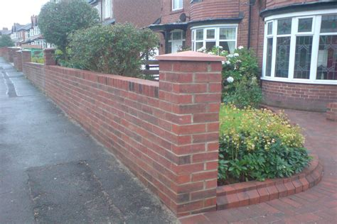 Brick Work New Garden Wall Driveway Block Paving Bricks For Garden Walls