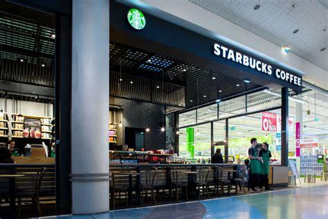 Le premier Starbucks Café chez Géant Casino