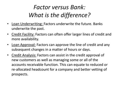 Letter Of Credit Vs Factoring Ppt Factoring Lines Of Credit Powerpoint Presentation Id 1673306