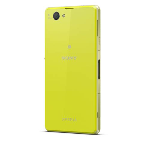 mobile sony z1 sony mobile xperia z1 compact jaune achat smartphone