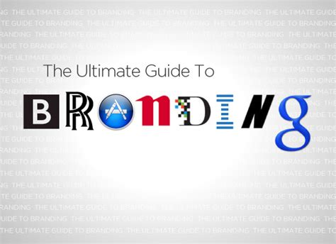 the ultimate guide to branding