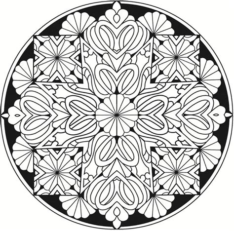 stained glass mandalas an educational coloring book books welcome to dover publications