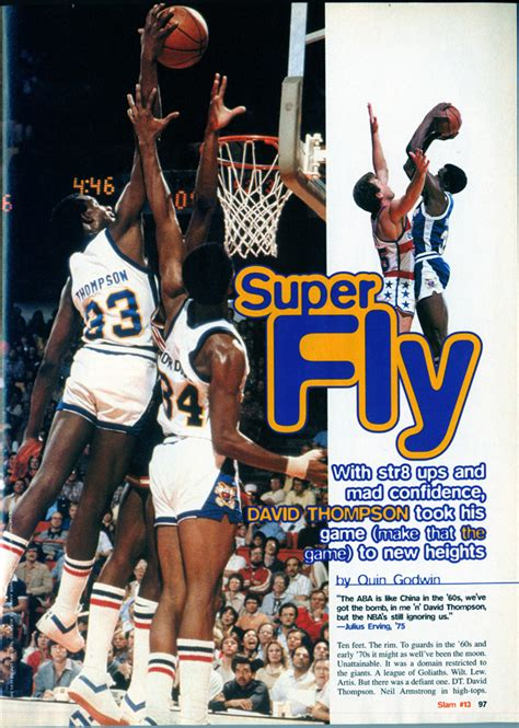 david thompson basketball shoes original school fly slamonline