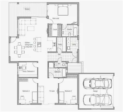 cheap house floor plans affordable home plans affordable home plan ch70