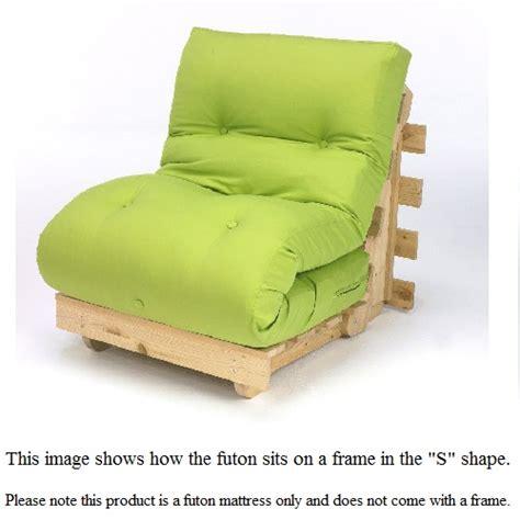 Tri Fold Futon by Premium Standard Tri Fold Futon Mattress