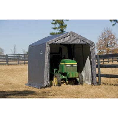 Shed Tractor Supply shelterlogic shed in a box 10 ft w x 10 ft l x 8 ft h