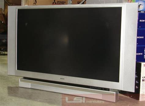 Tv Proyektor Toshiba toshiba 62hm15a 62 quot dlp projection hdtv tv