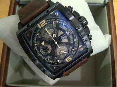 Ac 6376 Black Brown jual alexandre christie ac 6376 black steel brown leather