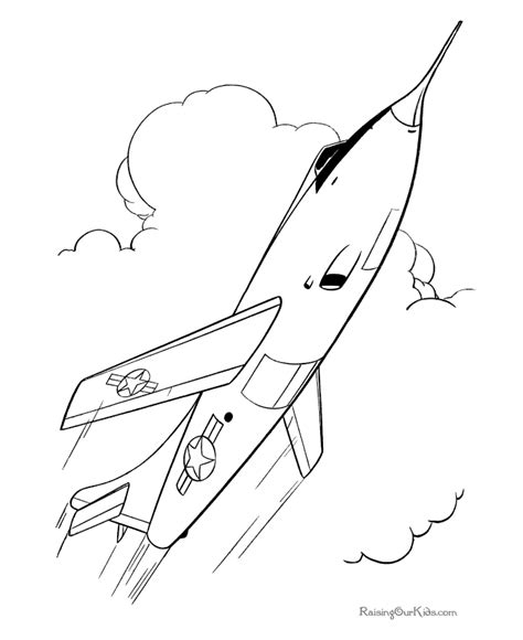 jet color free jet fighters coloring pages