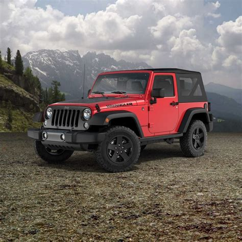 Jeep Trims New Jeep Wrangler And Wrangler Unlimited Trims Added To Lineup