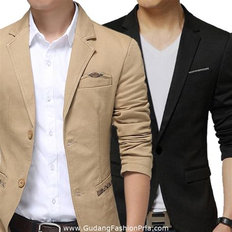 Baju Casual Semi Formal 12 model jas pria slim fit semi formal dan modern elegantria