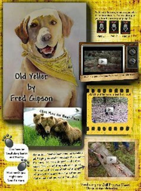 Book Report Yeller by Yeller Reading Excerpt Yeller Glogster Edu Interactive Multimedia Posters