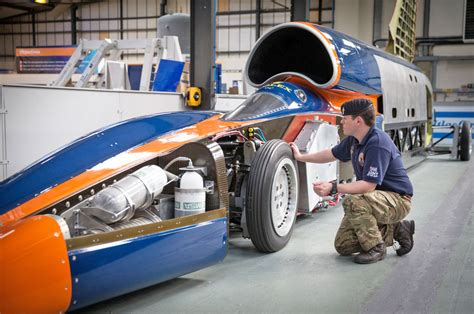 bloodhounds land speed record revived  chinese car giant