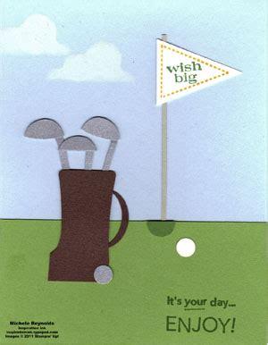 golf punch card template builder punch ideas inspiration ink