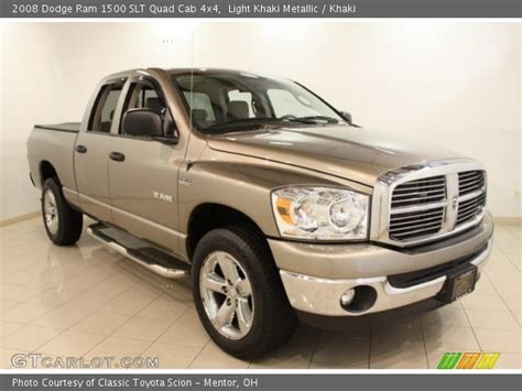 2008 dodge ram 1500 light light khaki metallic 2008 dodge ram 1500 slt cab