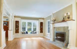 fair hill living room window seat and built in s