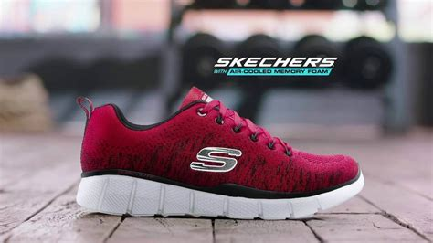 Sepatu Skechers Air Cooled Memory Foam mi蘯ソng l 243 t gi 224 y memory foam c盻ァa skechers c 243 g 236 苟蘯キc bi盻
