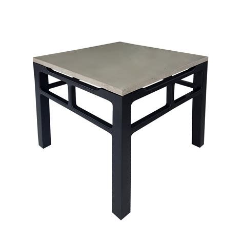 black ash side table ash grey and black side table isabelina