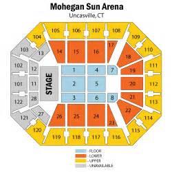 Mohegan Sun Floor Plan by Mohegan Sun Concert Seating Chart Mohegan Sun Cabaret