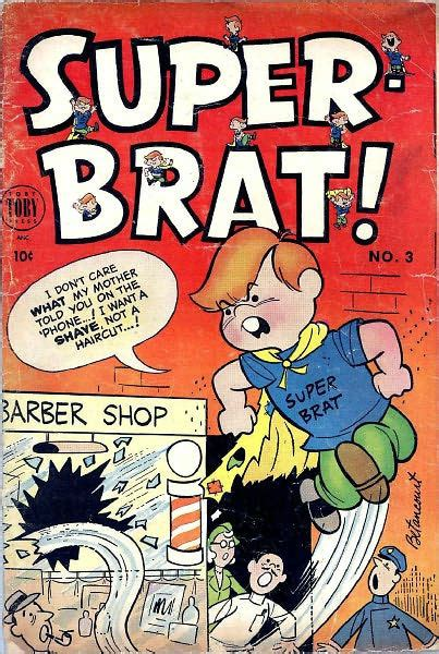 brats number super brat number 3 funny comic book by lou diamond nook