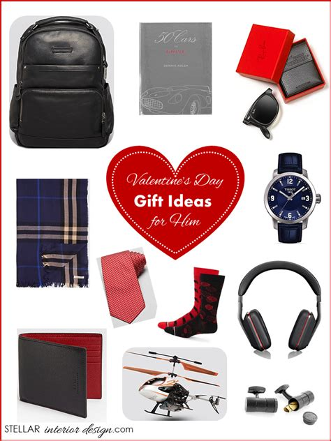 valentines day present ideas for him