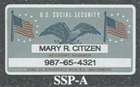 Soc Sec Card Template by Social Security Card Blank