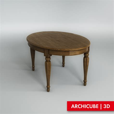 Dining Table Models Dining Table 3d Model Max Obj Fbx Cgtrader