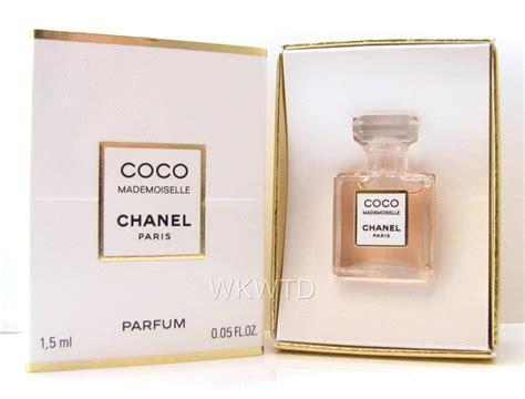 Parfum Original Chanel Coco chanel coco mademoiselle parfum mini bottle 1 5ml 100 authentic boxed perfume ebay