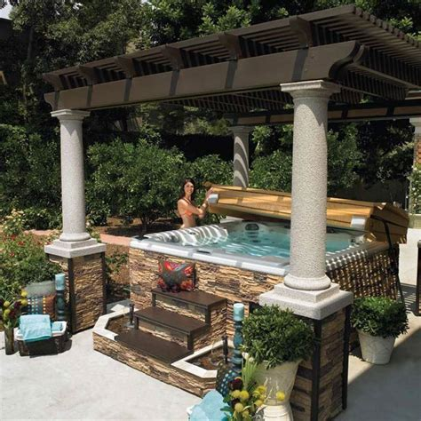 backyard tub best 25 tub pergola ideas on deck with pergola pergola with shade and canopy