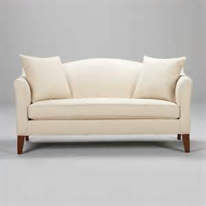 What Is At Cushion Loveseat Hartwell Bench Cushion Sofa 74 Quot Traditional Sofas By