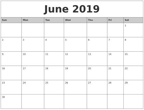 printable monthly calendar 2019 april 2019 blank printable calendar