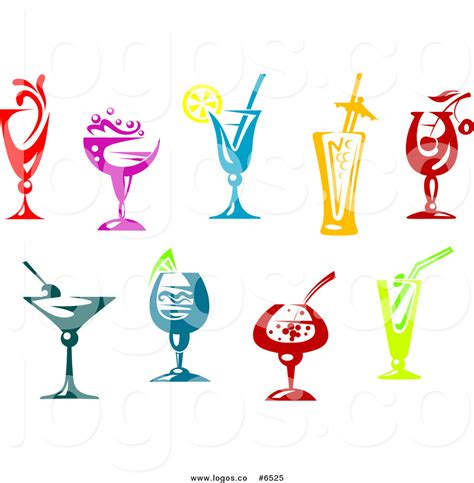 cocktail logo cocktails clipart 66