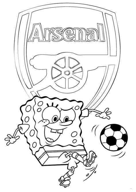 arsenal coloring pages arsenalfc no1 football info