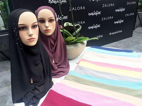 tutorial hijab naelofar syafiqahhashimxoxo naelofar for zalora unveils new