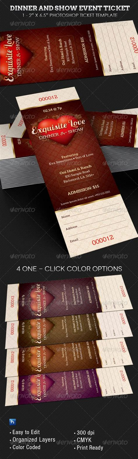 14 event ticket templates excel pdf formats