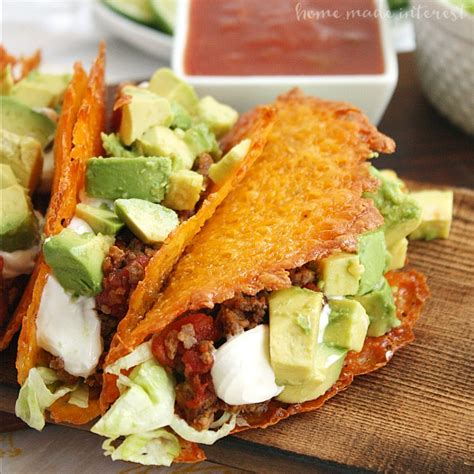 avocado taco boats keto cheese taco shells for a low carb taco night home made